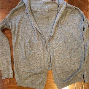 Women's Lululemon hooded reversible sweater
